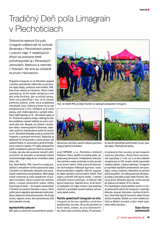 2018 SK WR redakční LG v Plechoticiach_Agromagazin_062018
