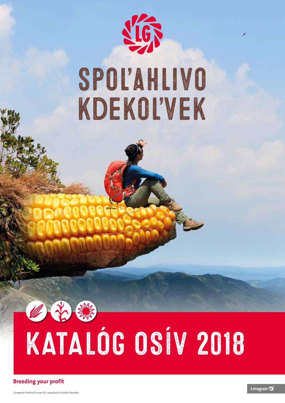 Katalóg kukurice a slnečnice 2018