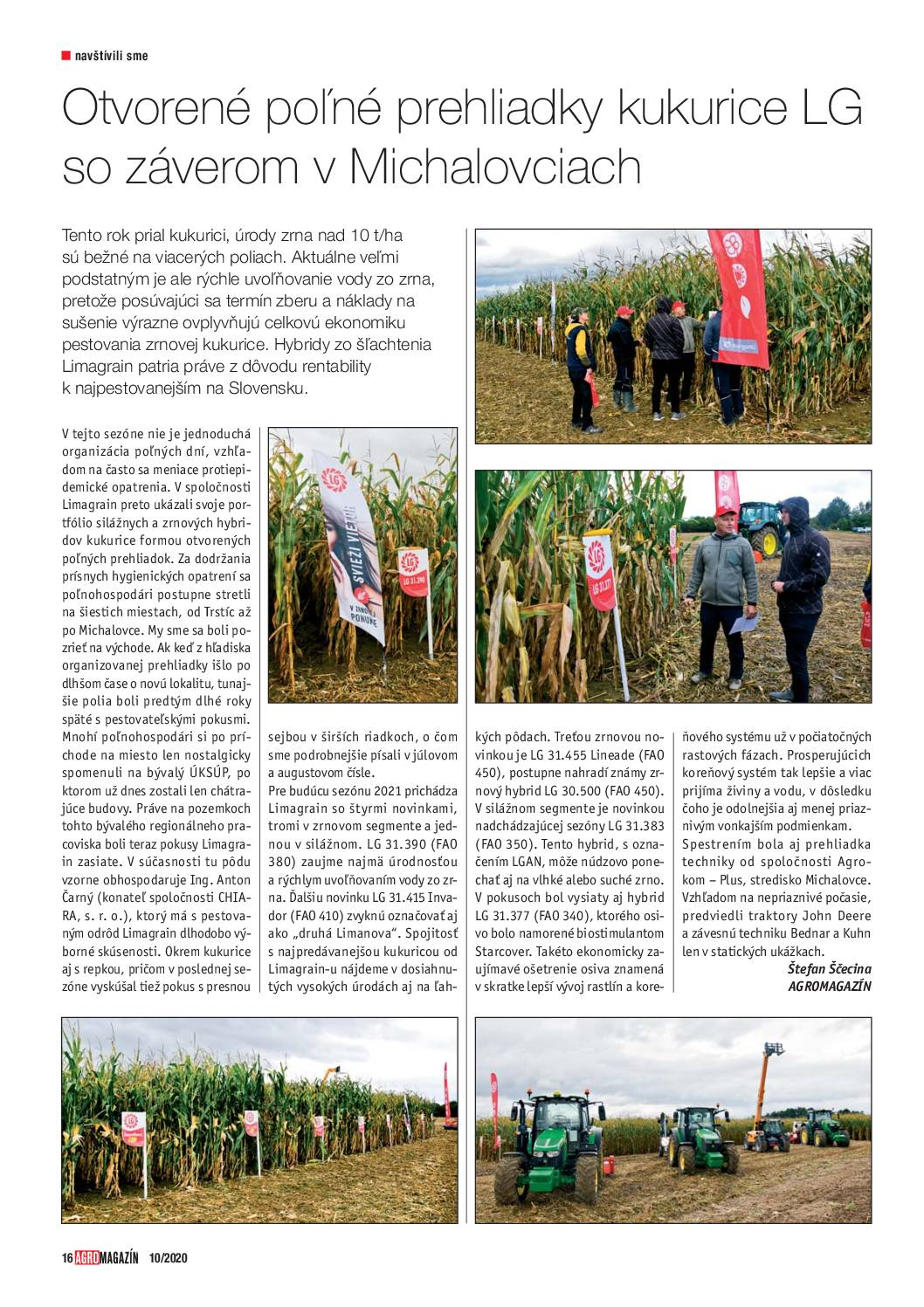 2021 SK _red_ polní dny Michalovce_Agromagazín10
